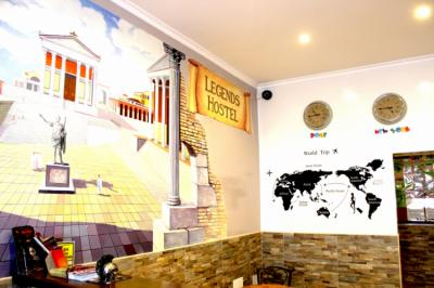 Hostellit - Legends Hostel Rome